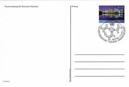 UN Wien - Ganzsache Postkarte Sonderstempel / Postcard Special Cancellation (i566) - Cartas