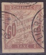 Taxe 60c Congo Français Libreville - Postage Due