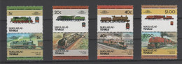 Tuvalu - Nukulaelae, Eisenbahnen, Postfrisch ** - Railways, Mnh - Tuvalu (fr. Elliceinseln)