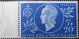 R2452/929 - 1944 - COLONIES FR. - S.P.M. - N°314 NEUF** BdF - Nuovi