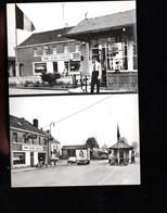 1287-NEU MORESNET LA CALAMINE KELMIS -cpm -cafe Restaurant De La Douane-douanier Drapeau Belge - La Calamine - Kelmis