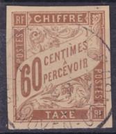 Taxe 60c Moyen Congo Brazzaville - Taxes