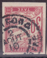 Taxe 30c Cote D'ivoire Mankono - Postage Due