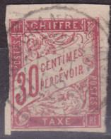 Taxe 30c Grand Popo Dahomey - Taxes