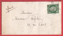 N°2 PARIS ETOILE CA DAU DOS PARIS 7 60 7 POUR PARIS 6 JUILLET 1852 - 1849-1876: Periodo Classico