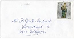 Oostakker 1993 >> Zottegem - Storia Postale