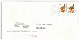 Mechelen 1994 / Buzin Oiseau Vogel Bird / Auto Car - Storia Postale