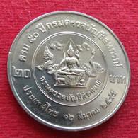Thailand 20 Baht 2002 KM# 419  Audit Department Tailandia Thailande UNC ºº - Thailand