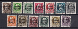 Bayern - 1919 - Michel Nr. 152/164 A - Gestempelt - 104 Euro - Bavaria