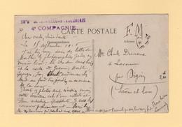 38e Bataillon De Tirailleurs Senegalais 4e Compagnie - FM - 1916 - Authuile Maisons Bombardees - Guerra De 1914-18