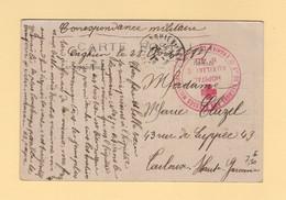 Hopital Auxiliaire N°45 - Enghien Les Bains - 1915 - Societe De Secours Aux Blesses Militaires - Guerra De 1914-18