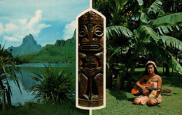 CPM - TAHITI - BAIE De COOK MOOREA ... - Tahiti