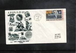 USA 1969 Space / Raumfahrt  Apollo 12 Interesting Cover - Verenigde Staten