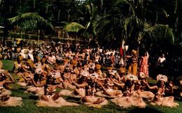 CPM - TAHITI - DANSE Tahitienne Groupe De Jolies Danseuses De HEIVA ... - Tahiti