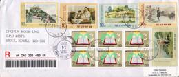 Korea / Corée Du Sud 2001, Book / Livre / Telescope / Stamps Of DPR Korea / Timbres De Corée Du Nord - Korea (...-1945)