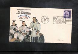 USA 1971 Space / Raumfahrt  Apollo 15 Man On The Moon Interesting Cover - Verenigde Staten