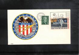 USA 1972 Space / Raumfahrt  Apollo 16 Interesting Cover - Verenigde Staten