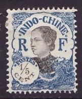 Indochine - Indochina - Mainland Southeast 1922-23 Y&T N°97 - Michel N°103 * - 1/5c Annamite - Unused Stamps