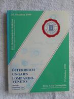 AC Corinphila 115 Auction 1999: Special Catalogue Austria Österreich-Ungarn Lombardo - Veneto, Sammlung 'Sissi' - Sin Clasificación