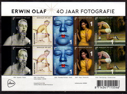 2019 Netherlands  Art Photography Of Erwin Olaf Sheetlet MNH** MiNr. 3834 - 3838 Mode, Art, Museums - Nuovi