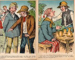 S 4   -  328 - 329 - 330  -   6  CARTES   FANTAISIES   -       Scènes  Rurales  Humoristiques  - - Unclassified
