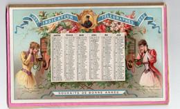 Calendrier Almenach C1893 Indicateurs Et Nomenclature Télégraphiques & TELEPHONE De France Et Colonies 21cmX14cm - Formato Grande : ...-1900