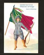"REPUBLICA. Lopes De Mendonça - Republicano Autor Da Letra Hino ""A PORTUGUESA"" Edição Da PRPAGANDA POSTAL Lisboa PORTUGAL - Lisboa"