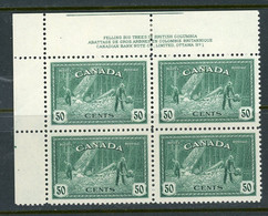 Canada MNH PB  1946 Logging - Sin Clasificación