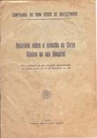 PORTUGAL-MATOSINHOS-LEÇA-RELATÓRIO SOBRE A QUESTÃO DO HOSPITAL-1931 - Old Books