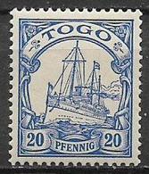 GERMANIA REICH COLONIA TOGO 1900 SERIE ORDINARIA YVERT. 10  MNH XF - Kolonie: Togo