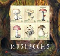 Mustique  Grenadines Of St.Vincent  2019  Mushrooms   I201901 - St.Vincent E Grenadine