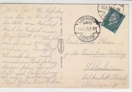 Karte Aus LIMBURG (LAHN) BAHNHOF 14.6.30 AK-Limburg - Cartas
