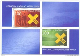 2015. Kazakhstan, International Day Againts Nuclear Tests, S/s,  Mint/** - Kazakhstan