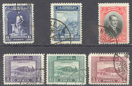 Turkey Sc# 676-681 Used 1929 Definitives - Used Stamps