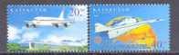 2002. Kazakhstan, Aviation/Airplanes, 2v, Mint/** - Kazakhstan