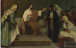 Rob Leinweber L'Histoire Sainte Jesus Dans La Synagogue De Nazareth    RV - Other