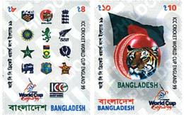 Ref. 63812 * MNH * - BANGLADESH. 1999. CRICKET WORLD CUP 1999 . COPA DEL MUNDO 1999 DE CRICKET - Bangladesh