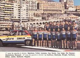 Carte - Equipe Sonolor Gitane - Cycling
