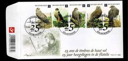 FDC : Nr 4030/34 Stempel: 2020 Antwerpen - 2001-10