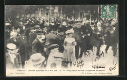 CPA Vibraye, Concours De Pompes Du 29 May 1910, Menschenansammlung - Vibraye