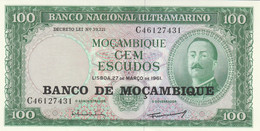 BANCONOTA MOZAMBICO 100 UNC (MK385 - Mozambique