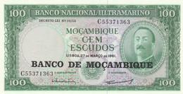 BANCONOTA MOZAMBICO 100 UNC (MK386 - Mozambique