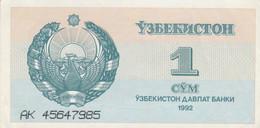 BANCONOTA UZBEKISTAN 1 UNC (MK398 - Uzbekistan