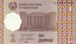 BANCONOTA TAJIKISTAN 1 UNC (MK402 - Tajikistan