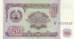 BANCONOTA TAJIKISTAN 20 UNC (MK403 - Tajikistan