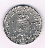 1 GULDEN 1978 NEDERLANDSE ANTILLEN /3105/ - Netherland Antilles