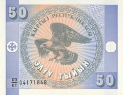 BANCONOTA KYRGYZSTAN 50 UNC (MK466 - Kyrgyzstan
