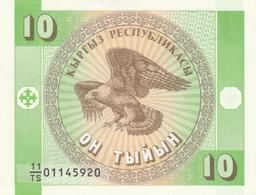 BANCONOTA KYRGYZSTAN 10 UNC (MK468 - Kyrgyzstan