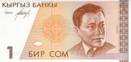 BANCONOTA KYRGYZSTAN 1 UNC (MK472 - Kyrgyzstan