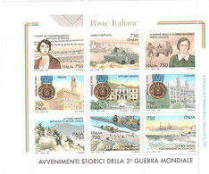 1995 AVVENIMENTI STORICI DELLA 2° GUERRA MONDIALE - Blocks & Sheetlets